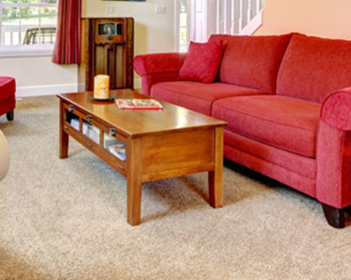 carpet-red-couch