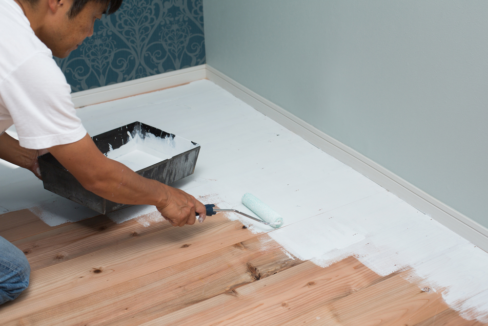 Everything You Need To Know About Painting Hardwood Flooring