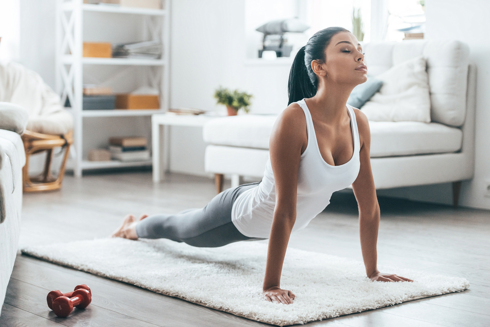 How To Turn Your Living Room Into A Home Gym