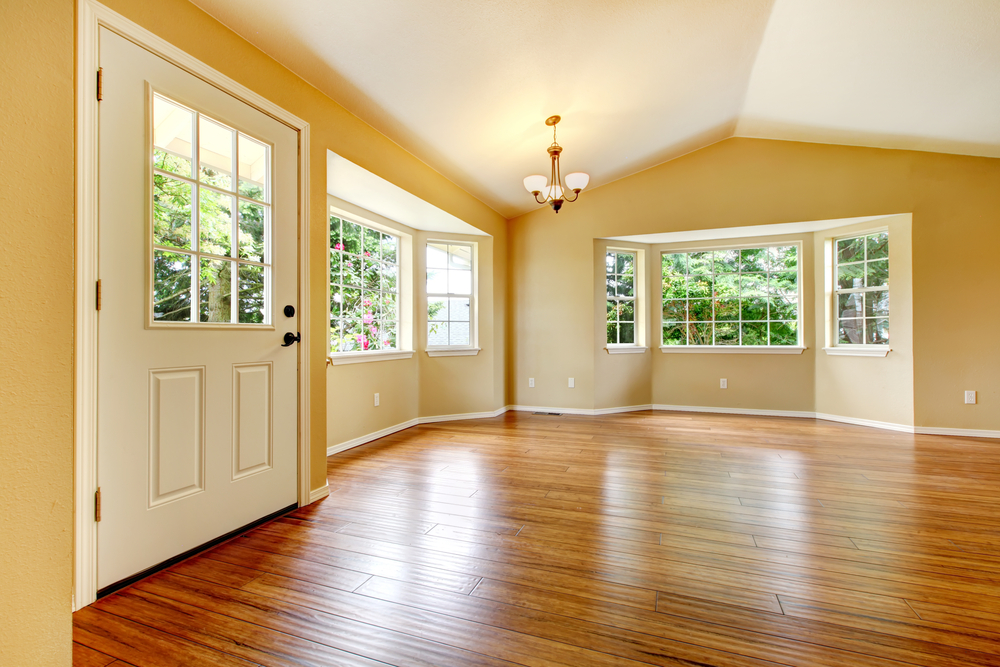 Shiny-hardwood-flooring
