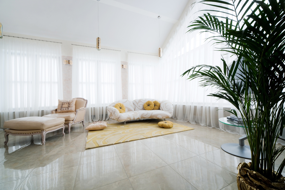 Living-room-marble-tile